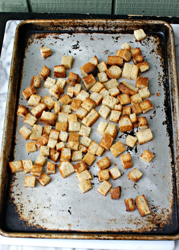 gluten-free croutons - Gluten Free Girl and the Chef