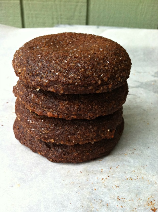 gluten-free soft molasses cookies | Gluten Free Girl