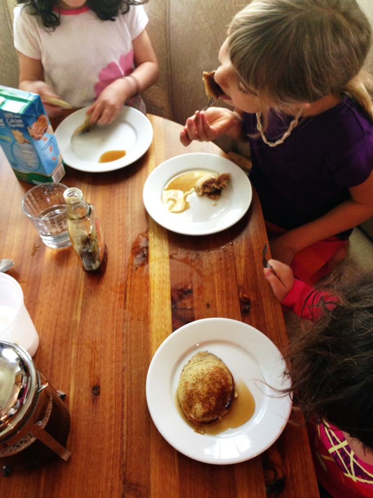 pancakes with the girls