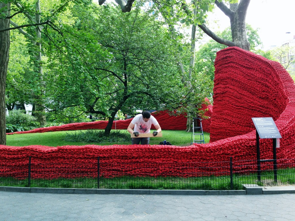 art in Madison Square Park