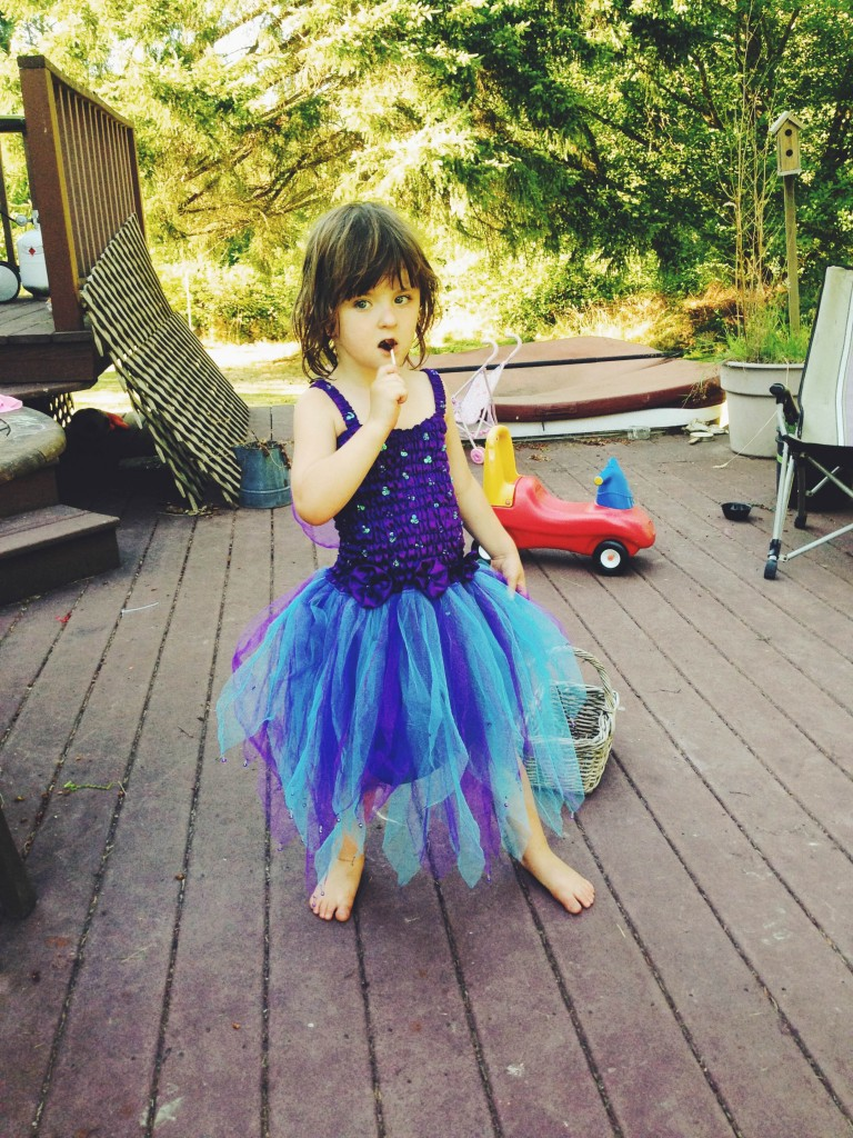 Lucy is five