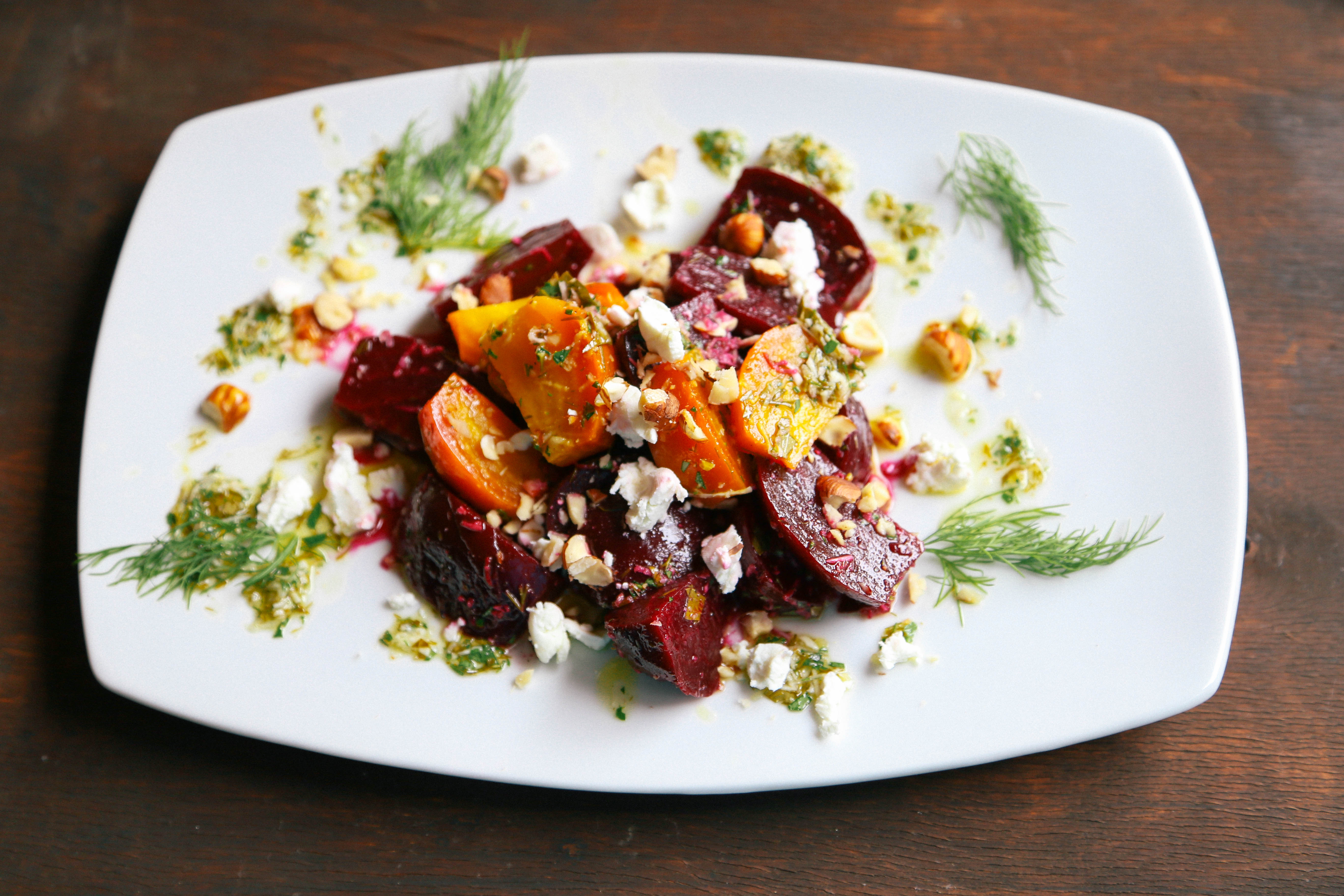 beet salad with beetroot salad with dill and beet salad with walnuts ...