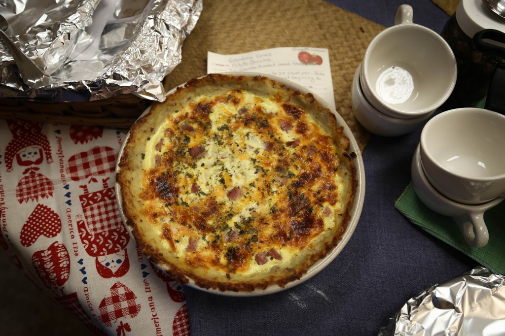 PA- potato quiche