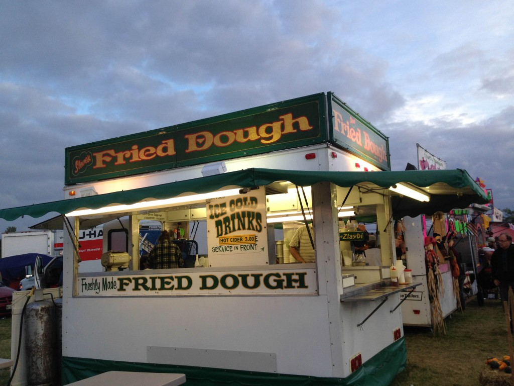 Maine- fried dough