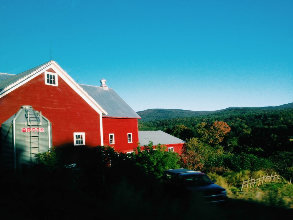 Vermont- red barn