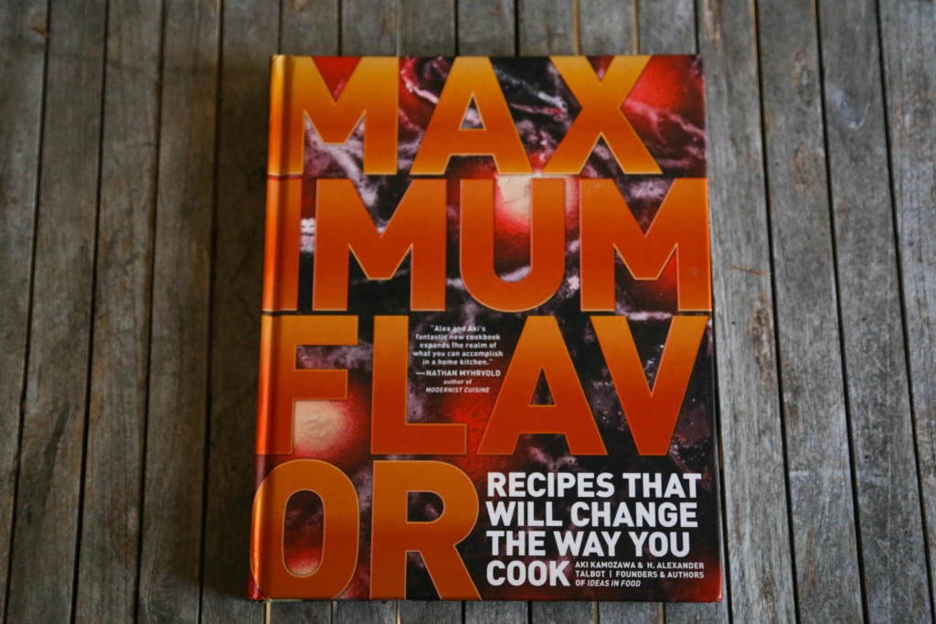 Chef books- Maximum Flavor