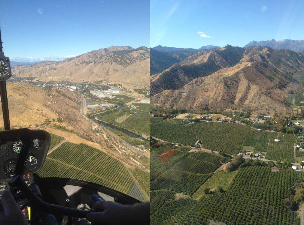 Wenatchee helicopter tour