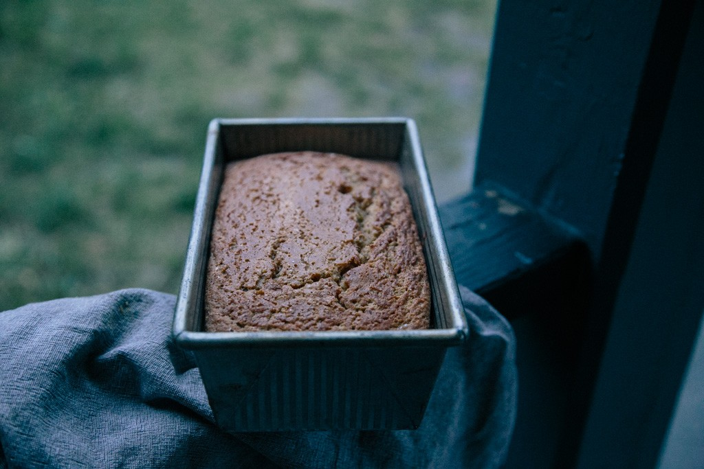 gluten-free cardamom apple bread