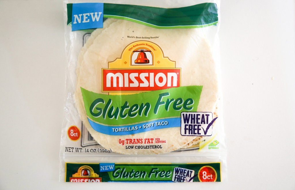 gluten-free Mission tortillas
