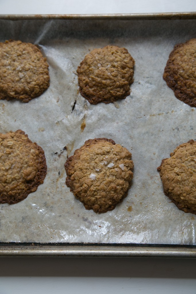 salted oatmeal cookies